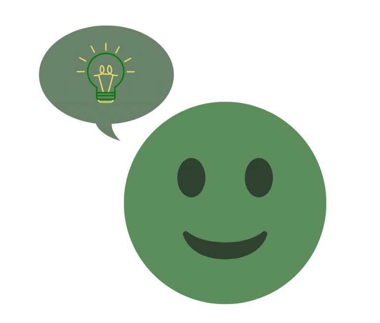 Emoji thinking