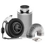 Carbon filter, ducting and fan
