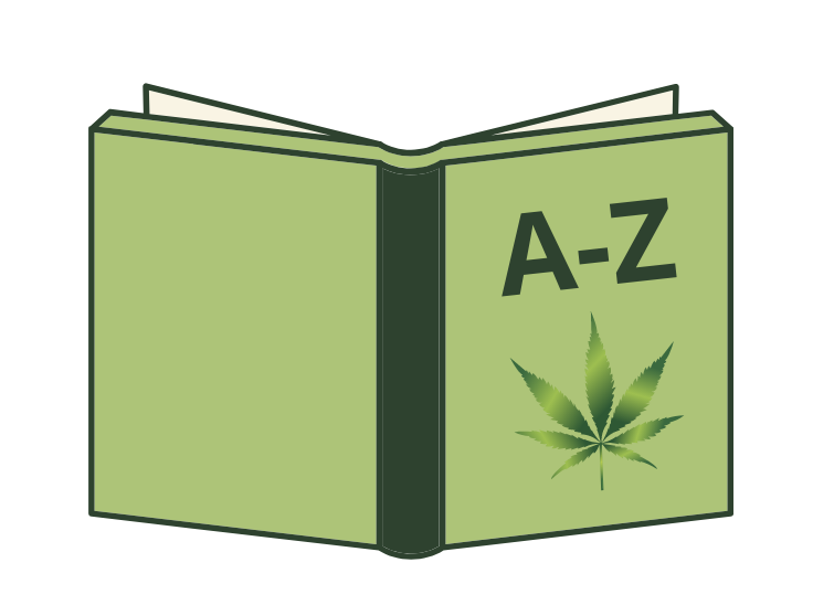 cannabis dictionary graphic