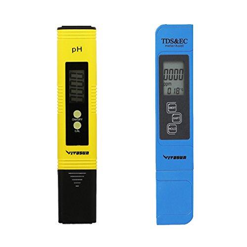 ph, ec and tds meter