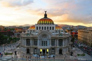 building from above in Mexico