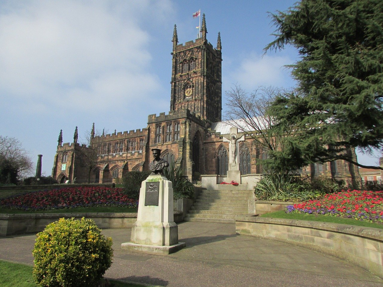 cathedral in Wolverhampton, UK