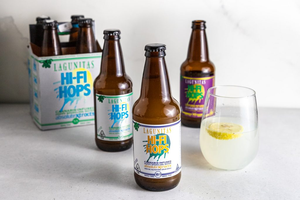 cannabis infused drink bottles