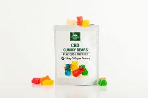 cbd gummy edibles packet