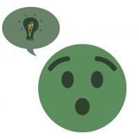 Emoji lightbulb